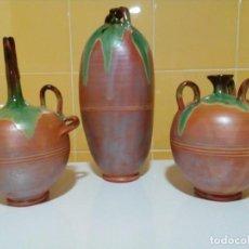 Antigüedades: JARRONES DEFORMES ARTESANIA TOTANERA. Lote 147861222