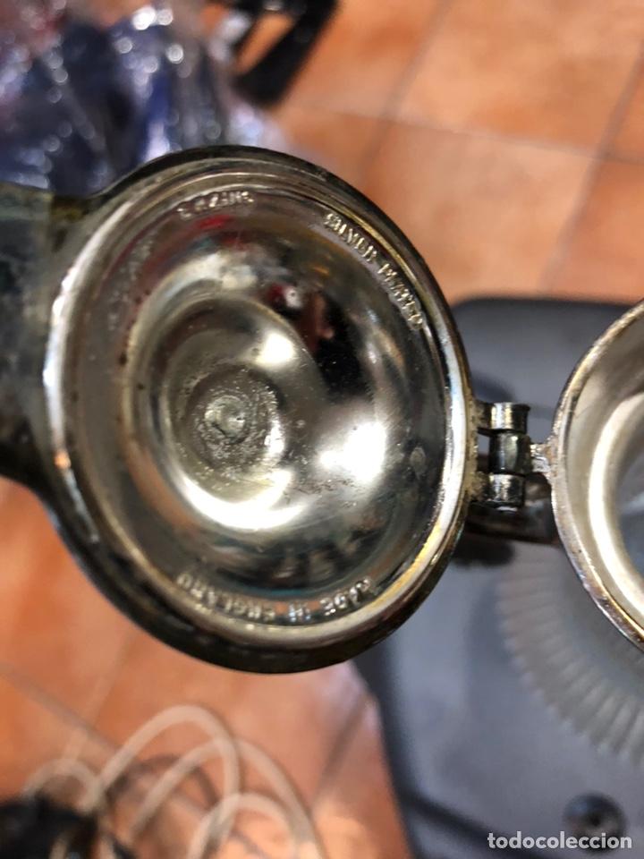 Antigüedades: Jarra inglesa de cristal y plata - Foto 3 - 147861837