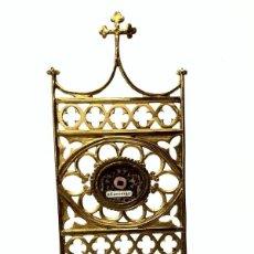Antigüedades: RELICARIO EXPOSITOR DE ESTILO NEOGÓTICO - SAN FRANCISCO DE ASÍS - S. XIX. Lote 147869374