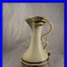 Antigüedades: JARRA DE CERAMICA COLOREADA. Lote 147874362