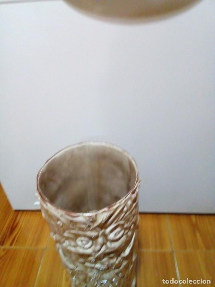 Antigüedades: BONITO PARAGUERO DE CERAMICA - Foto 5 - 147899074