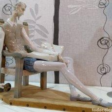 Antigüedades: FIGURA LLADRO DON QUIJOTE ESCULTURA PORCELANA VINTAGE ARTE. Lote 147933557