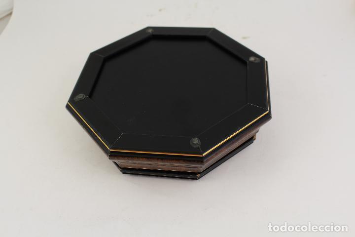 Antigüedades: caja joyero con barco en plata de ley 925milesimas - Foto 4 - 161067453