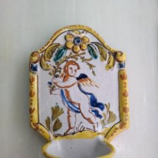 Antigüedades: ANTIGUA BENDITERA. Lote 147963230
