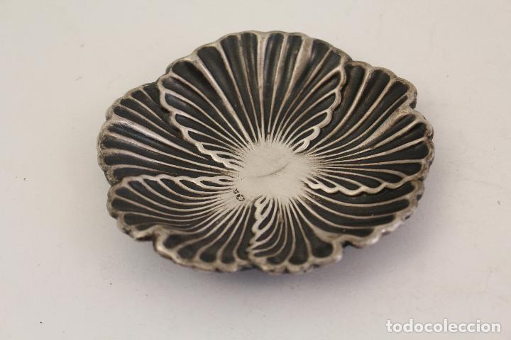 Antigüedades: bandeja en plata maciza de ley 925milesimas - Foto 5 - 161064560