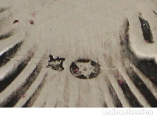 Antigüedades: bandeja en plata maciza de ley 925milesimas - Foto 6 - 161064560