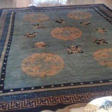 Antigüedades: ANTIGUA ALFOMBRA CHINA TAMAÑO 3'20X2'50. Lote 147970906