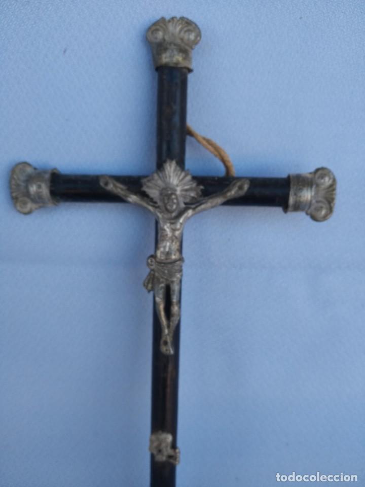 CRUCIFIJO NAPOLEON III. CIRCA 1850 (Antigüedades - Religiosas - Crucifijos Antiguos)