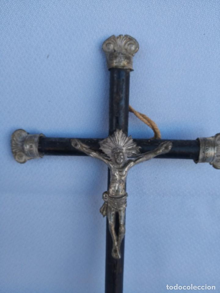 Antigüedades: CRUCIFIJO NAPOLEON III. CIRCA 1850 - Foto 2 - 148035394