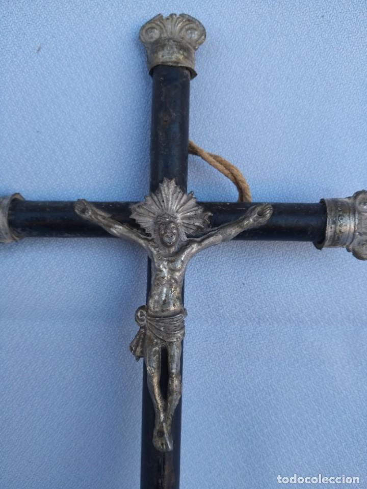 Antigüedades: CRUCIFIJO NAPOLEON III. CIRCA 1850 - Foto 7 - 148035394