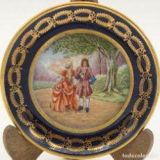 Antigüedades: PLATITO DE PORCELANA DE LIMOGES. Lote 148044990