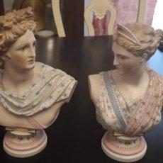 Antigüedades: BUSTOS DE BISCUITTE. Lote 148046226