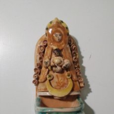 Antigüedades: ANTIGUA BENDITERA VIRGEN DEL ROCÍO. Lote 148050074