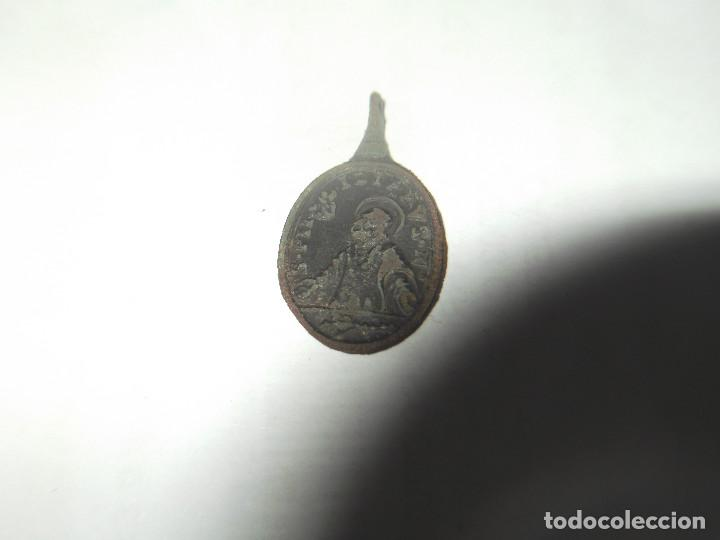 Antigüedades: Antigua medalla San Felipe - Foto 7 - 148074662