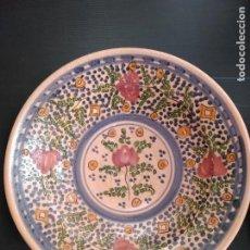 Antigüedades: TALAVERA ANTIGUO PLATO. Lote 148048274