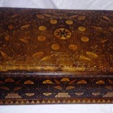 Antigüedades: CAJA DE NOGAL. Lote 159752828