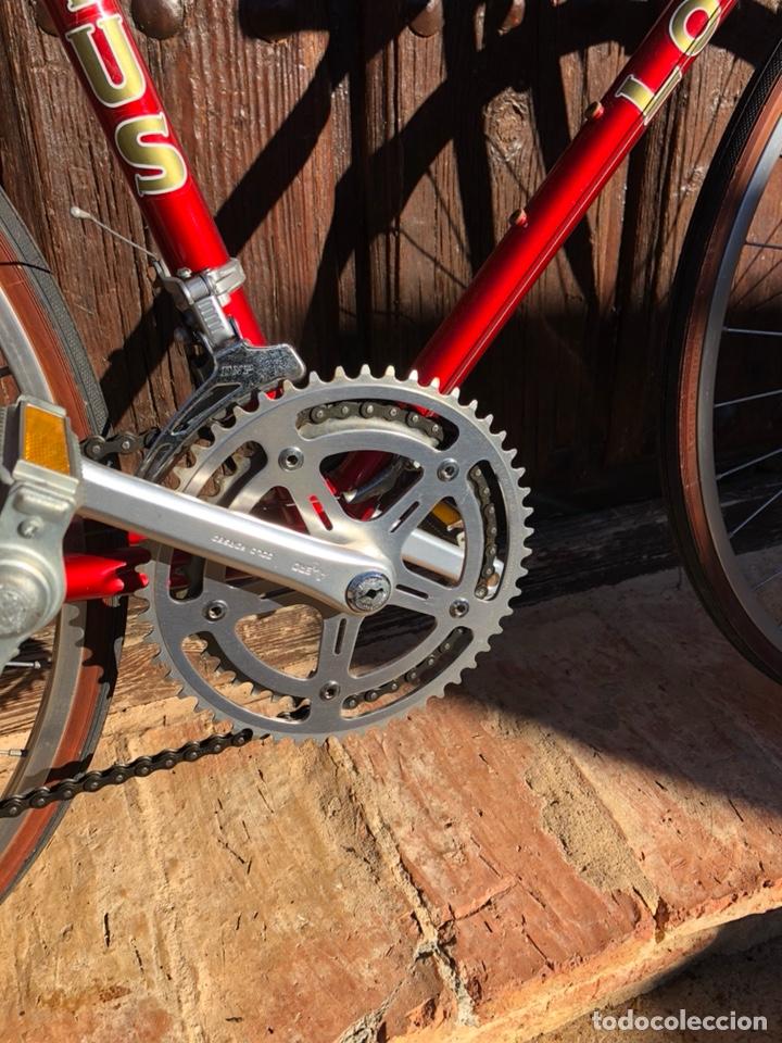 Antigüedades: Bicicleta antigua carreras lotus elan nueva sin estrenar - Foto 4 - 148146112