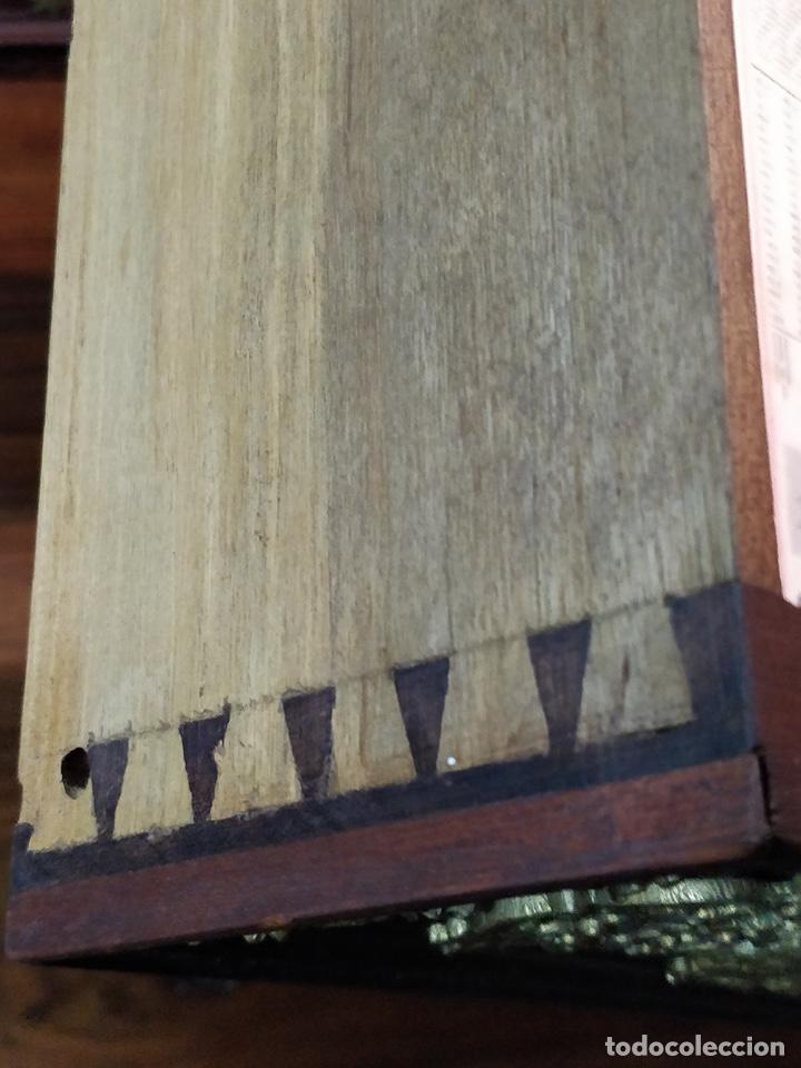 Antigüedades: Bargueño papelera Salmantino con herrería original S.XVI/XVII dos piezas. - Foto 42 - 154493005