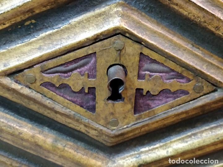 Antigüedades: Bargueño papelera Salmantino con herrería original S.XVI/XVII dos piezas. - Foto 72 - 154493005