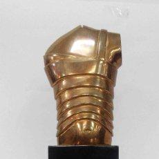 Antigüedades: ESCULTURA TORSO DE BRONCE NUMERADA. Lote 148158646
