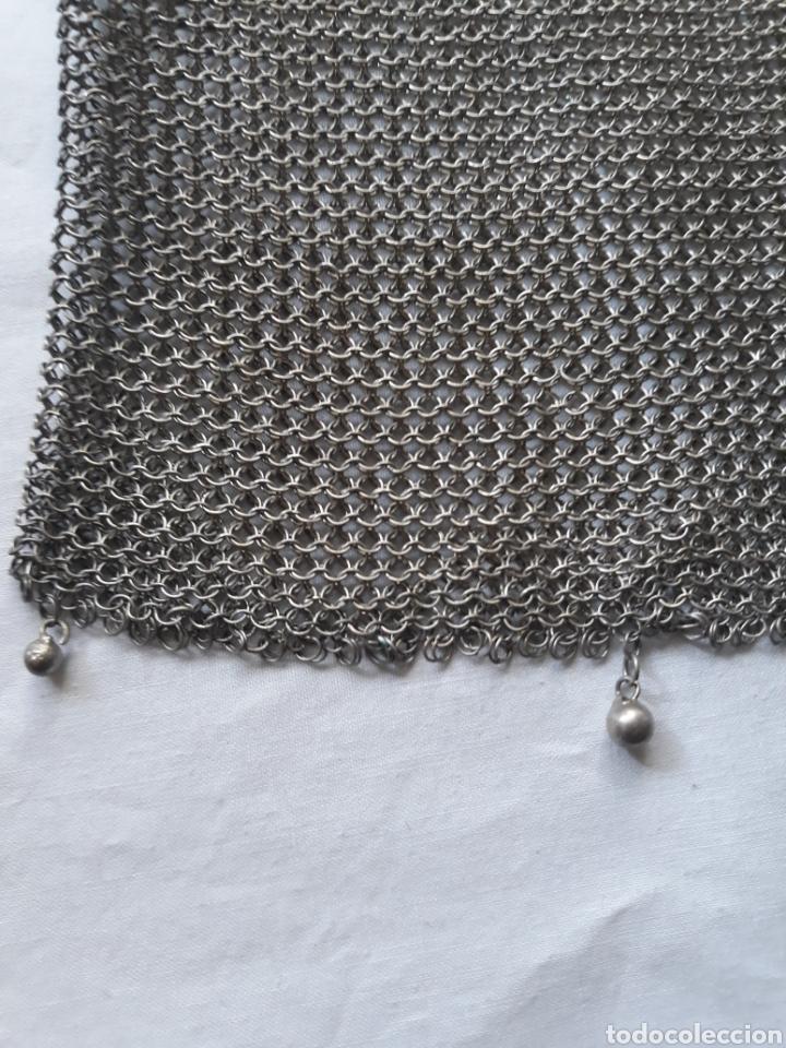 Antigüedades: Monedero bolso de plata 800 principios de siglo. - Foto 7 - 148159462