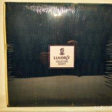 Antigüedades: CAJA REGALO DE BIENVENIDA A LA SOCIEDAD DE COLECCIONISTAS LLADRO. CITO ELEMENTOS QUE LA COMPONEN. Lote 148168970