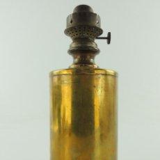 Antigüedades: IMPRESIONANTE ANTIGUO LAMPARA QUINQUE DE RENFE TREN EXCELENTE PIEZA DE COLECCION. Lote 148175366