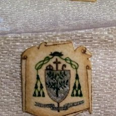 Antigüedades: RECORTE DE LA CASULLA DEL ABAD DE POBLET EDMOND M. GARRETA 1954 AÑO MARIANO VALLDONZELLA. Lote 148192022