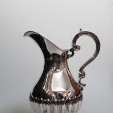 Antigüedades: JARRA EN PLATA LEY MARCADO CON CONTRASTE . Lote 148200730