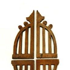 Antigüedades: CUATRO MOLDURAS MODERNISTAS ORIGINALES. FINALES S.XIX. Lote 148206506