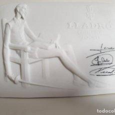Antigüedades: LLADRÓ - DON QUIJOTE DE LA MANCHA (LLADRÓ DAISA 1985) - PLACA DE PORCELANA. Lote 148206818