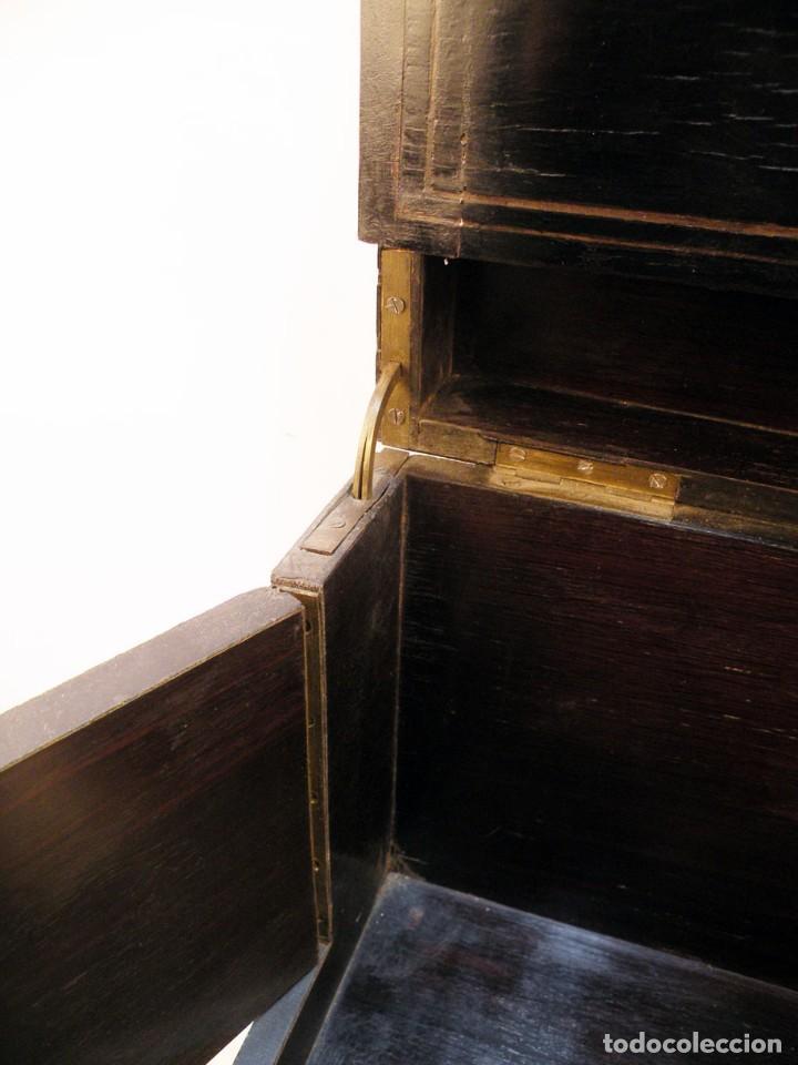 Antigüedades: LICORERA FRANCESA ANTIGUA VACIA - Foto 7 - 148238222