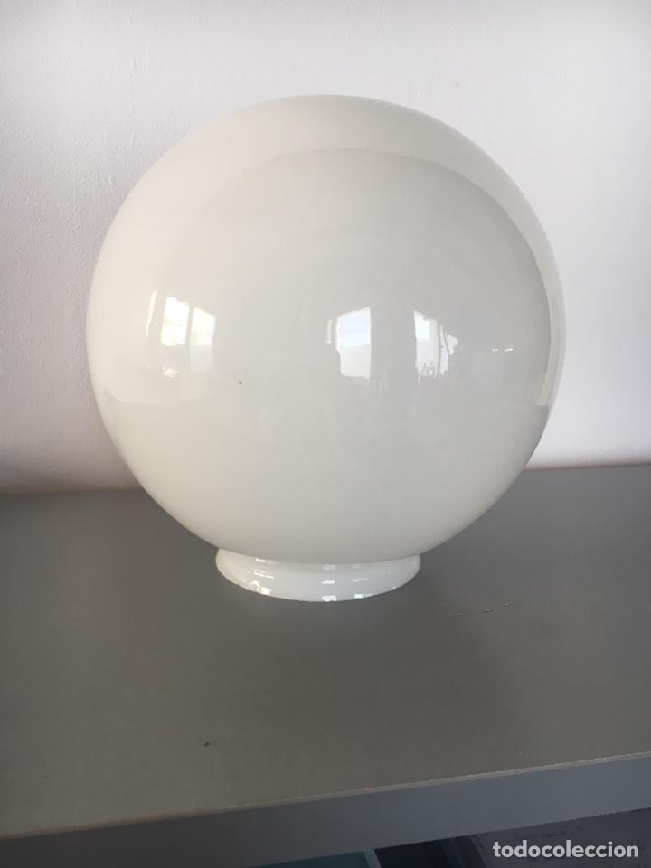 GLOBO OPALINA ANTIGUO PARA TECHO (Antigüedades - Iluminación - Lámparas Antiguas)
