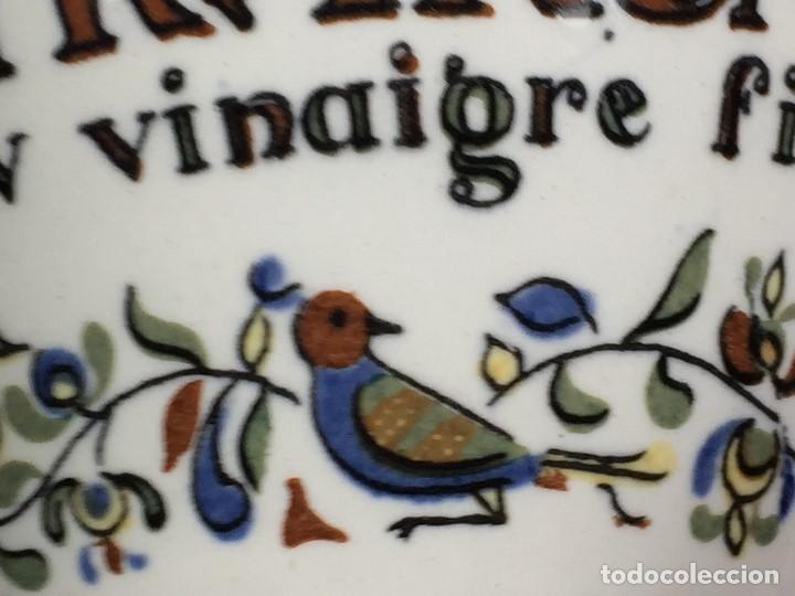 Antigüedades: antiguo bote de mostaza digoin pikarome sellada sarregemines ceramica porcelana francesa años 50 - Foto 6 - 148293706
