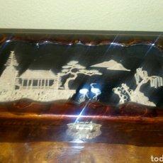 Antigüedades: ANTIGUA CAJA CHINA. JOYERO. Lote 148335336