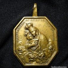 Antigüedades: MEDALLA GRANDE VIRGEN DE BELEN.CORDOBA. SIGLO XIX.FIRMADA. Lote 148339622