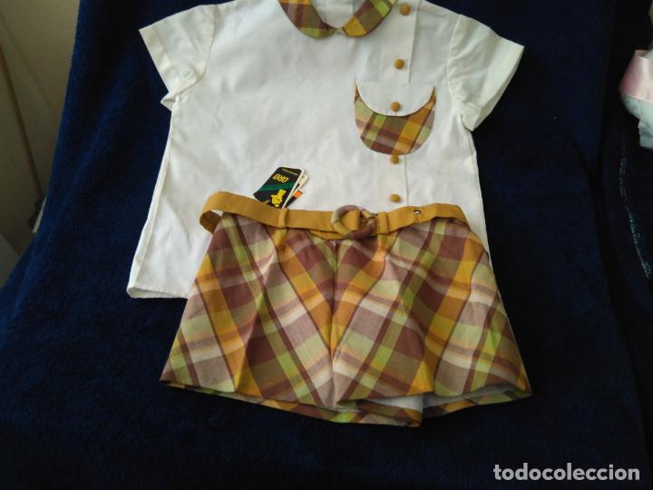 Antigüedades: Camisa y pantalón niño, Terlenka. Creac.Oro Aranjuez, talla 40 sin uso para coleccionistas años 60 - Foto 3 - 148349650
