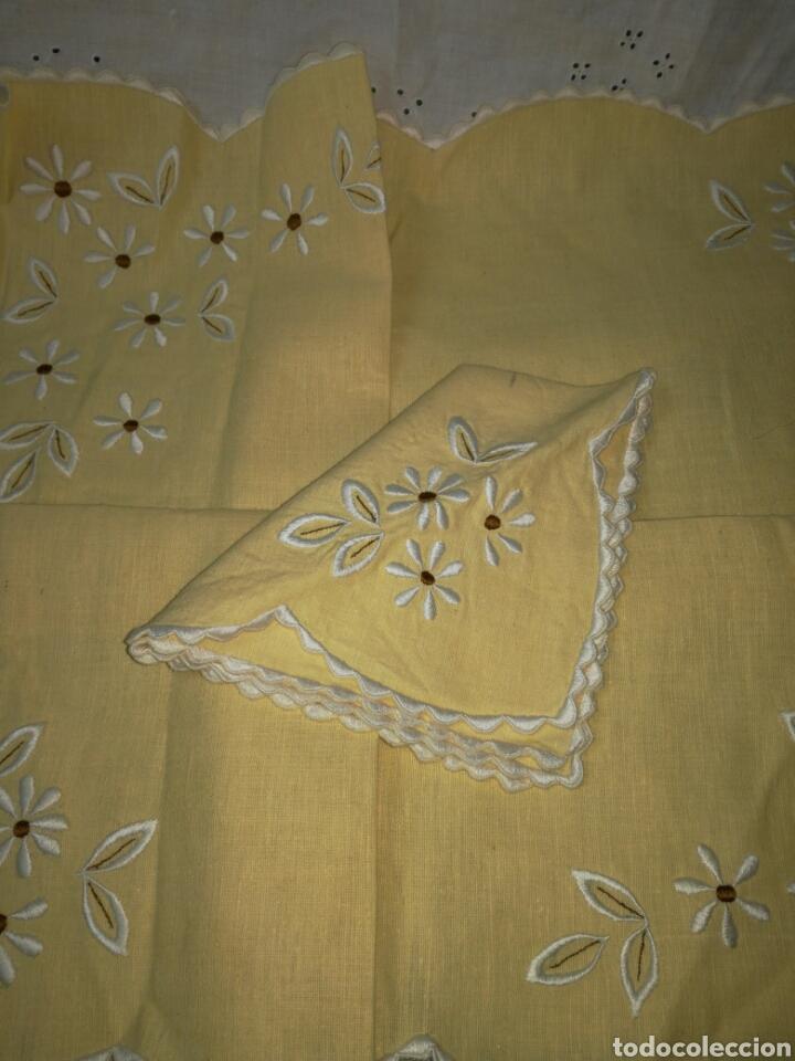 Antigüedades: Alegre mantel individual - Foto 2 - 215538613