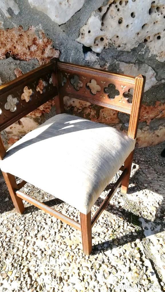 Antigüedades: SILLONCITO DE ESQUINA - Foto 4 - 148426854