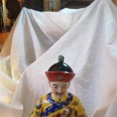 Antigüedades: FIGURA DE CHINO MANDARIN. Lote 148430086