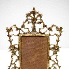 Antigüedades: MARCO DE BRONCE. Lote 122036051