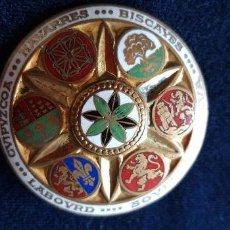 Antigüedades - Broche vasco esmaltado - 148537770