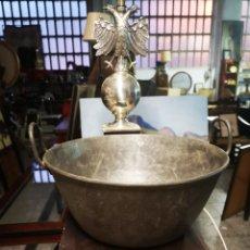 Antigüedades: ANTIGUA OLLA O CALDERO CON ASAS. Lote 148561678