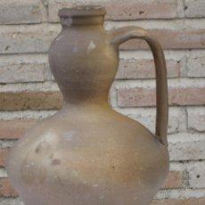 Antigüedades: CANTARO EN CERAMICA POPULAR DE MOVEROS DE ALISTE ( ZAMORA ). Lote 148566498