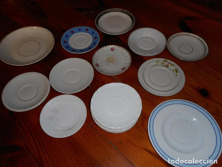 LOTE 19 PLATOS DIVERSOS - PORCELANA - ARCOROC - BIDASOA (Antigüedades - Porcelanas y Cerámicas - Otras)