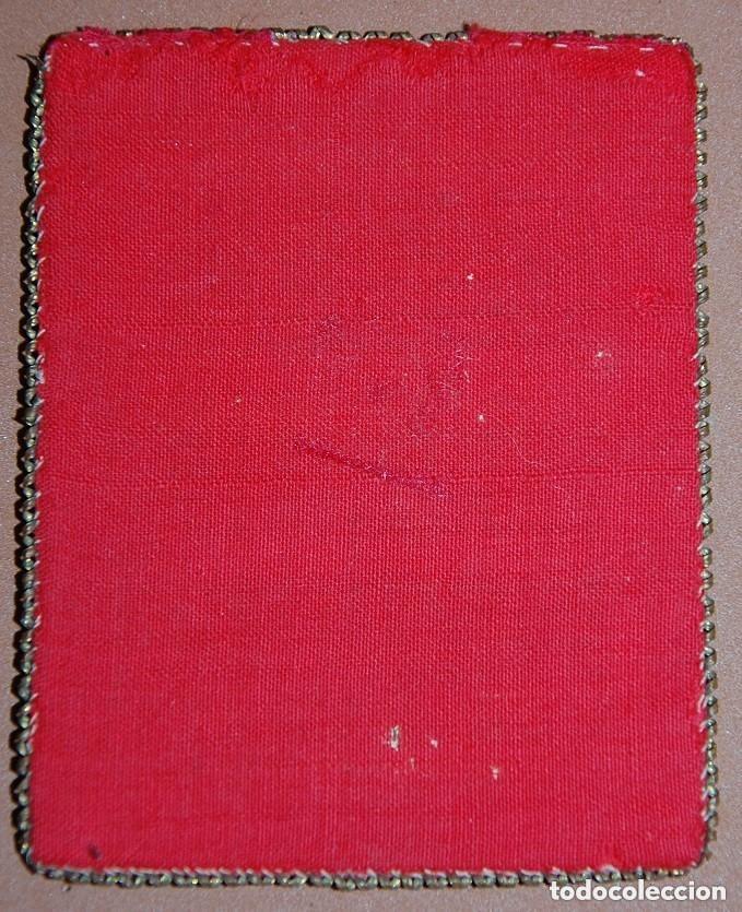 Antigüedades: ESCAPULARIO SAGRADO CORAZON DE JESUS SIGLO XIX - Foto 2 - 148598778