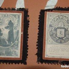 Antigüedades: ESCAPULARIO DE LA VENERABLE ORDEN TERCERA FRANCISCANA SIGLO XIX. Lote 148598954