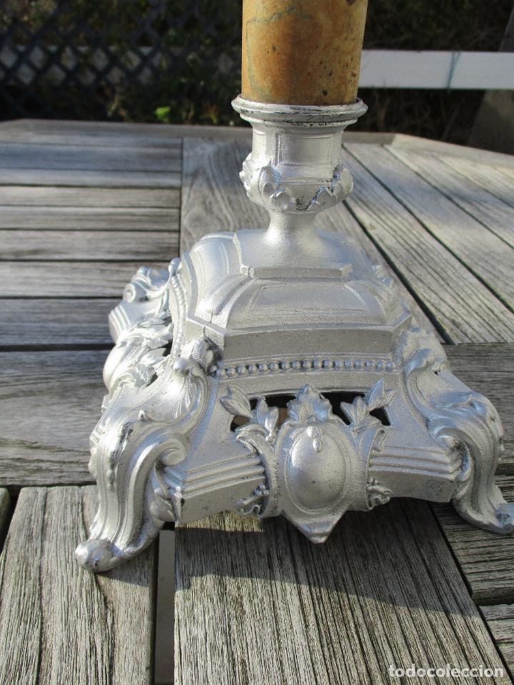 Antigüedades: HERMOSA Y GRAN QUINQUÉ LAMPARA DE PETROLEO O ACEITE CRISTAL BACCARAT 197,00 € ALT. 74 cm. - Foto 2 - 148599566