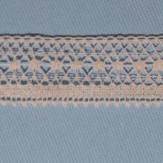 Antigüedades: ANTIGUA PUNTILLA ENCAJE VALENCIENNE 3 METROS, 1,3 CM DE ANCHO. BLANCA. Lote 148610666
