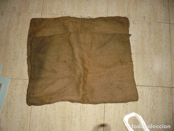 Antigüedades: ANTIGUO SACO DE AZUCAR.AZUCARERA DE LA BAÑEZA.SOCIEDAD AZUCARERA IBERICA.BARCELONA SACO DE 60 KG - Foto 6 - 175546623